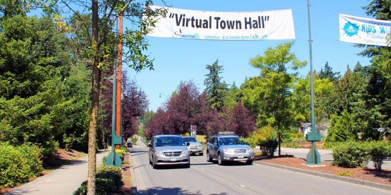 "The Virtual Town Hall on ""Business & Shopping in Sammamish"" is now open!"